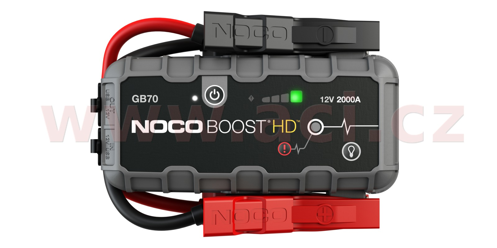 startovací box + power banka, startovací proud 2000 A, NOCO GENIUS BOOST HD GB70 (NOCO USA)